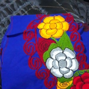 Handmade Tops - Beautiful Embroidered Cotton Top